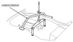 VSB02C000028, Engine Hanger Adapter (Odyssey 1999-2004)