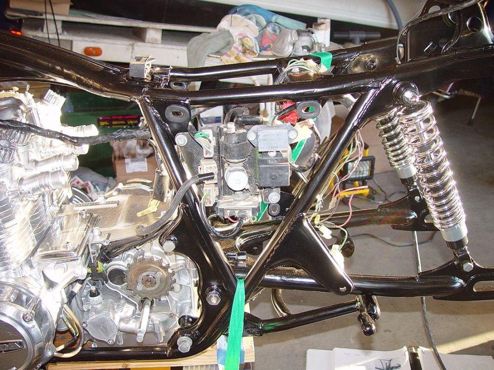 medium resolution of honda cb550 cafe racer build 146