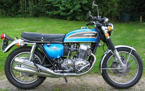 small resolution of honda 750 blue 1976