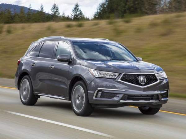 020 Acura MDX Hybrid Changes