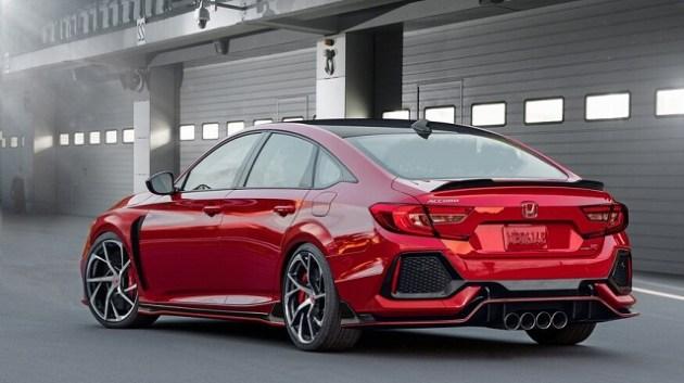 2021 Honda Accord Type R rear