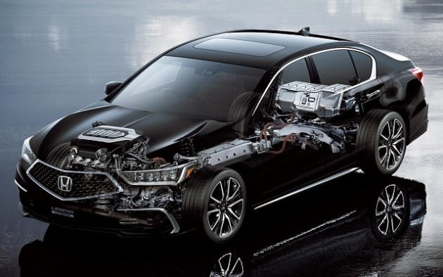 2021 Honda Legend hybrid system