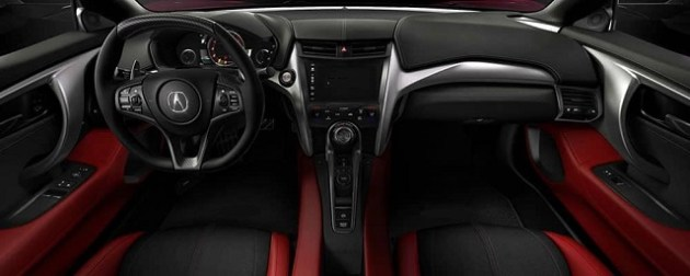 Acura NSX Type R interior