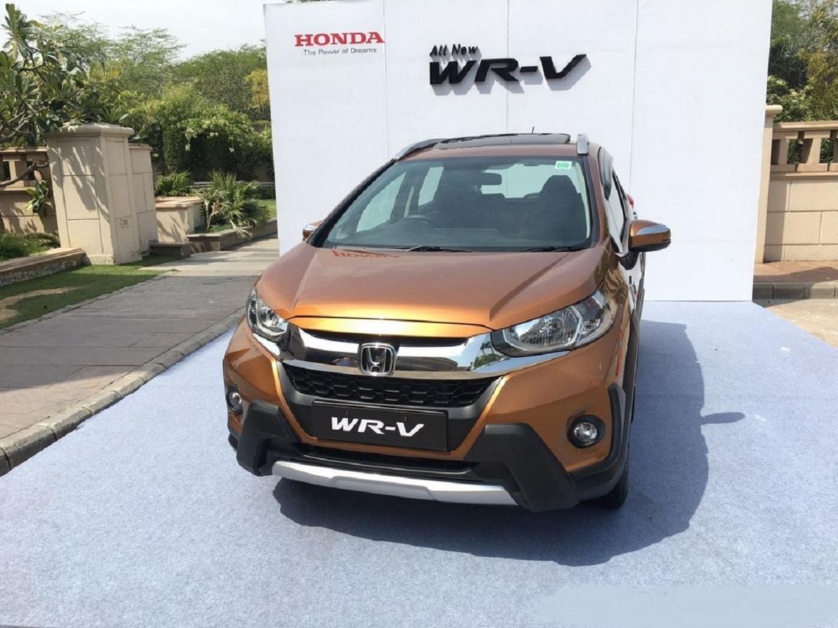 2021 Honda WR-V front