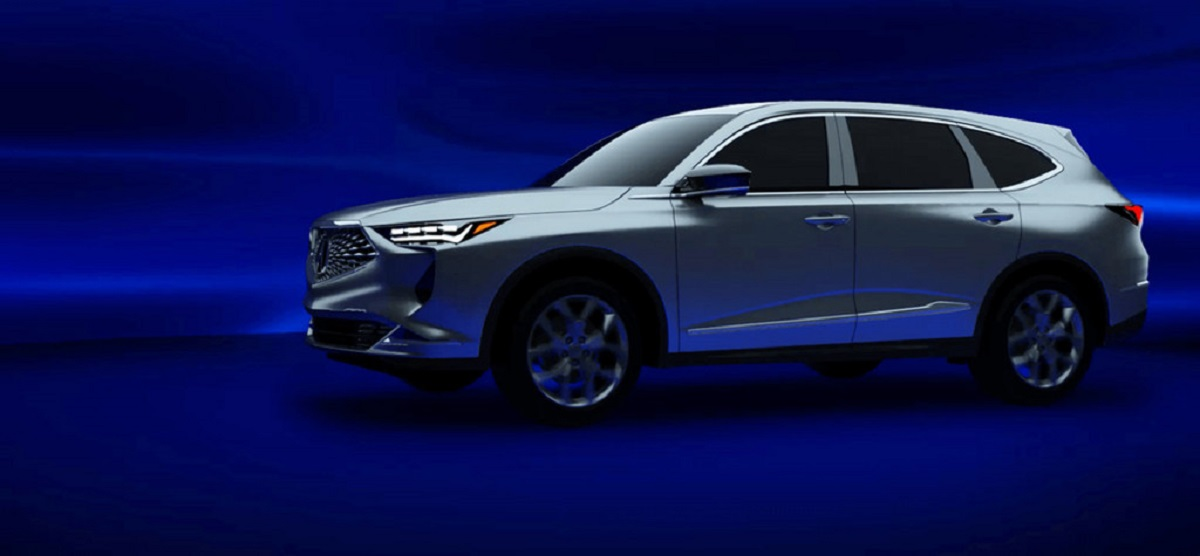 2022 Acura MDX front