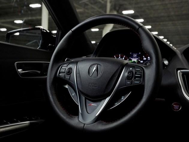 2021 Acura TLX PMC Edition cabin