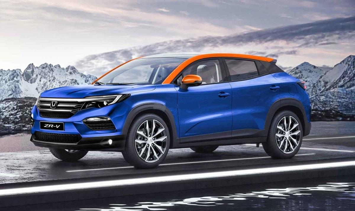 2021 honda zrv is the allnew compact crossover  honda