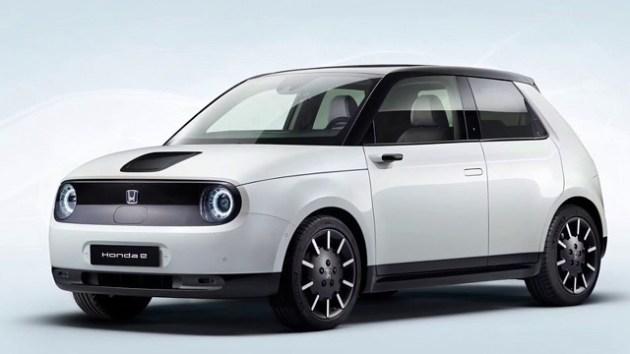 2021 Honda E front