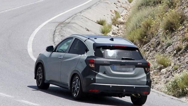 2021 Honda Vezel rear