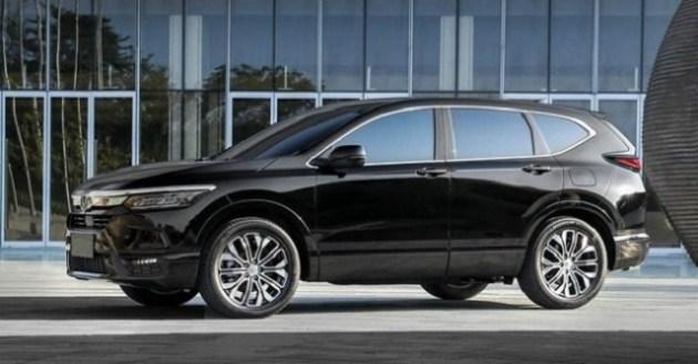 2022 Honda CR-V side