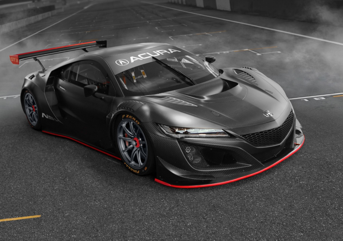 2021 Acura NSX Type R front