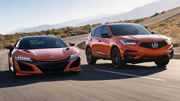 2021 Acura RDX PMC Edition vs NSX