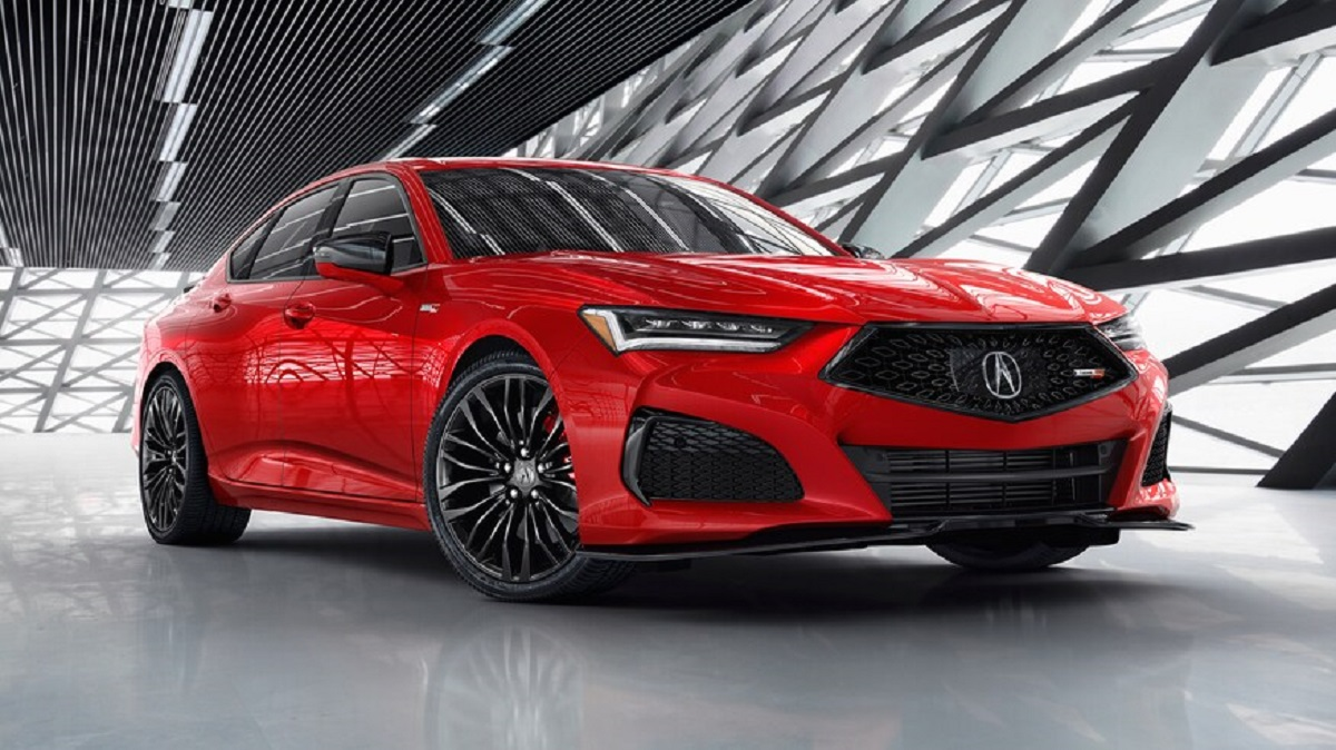 2021 Acura TLX A-Spec front