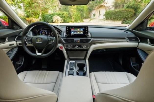 2021 Honda Accord Hybrid cabin