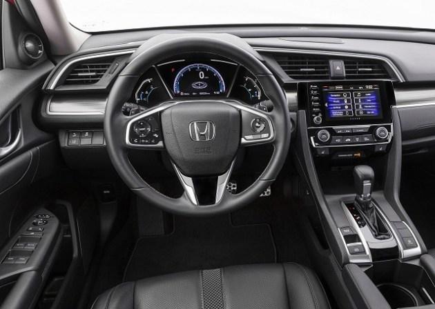 2021 Honda Civic Sedan cabin