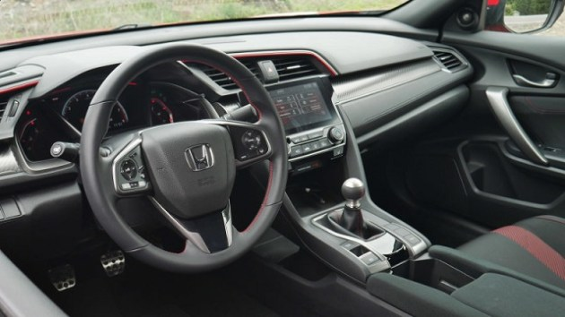 2022 Honda Civic Sedan cabin