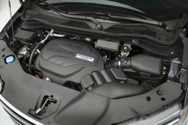 2021 Honda Pilot Black Edition engine