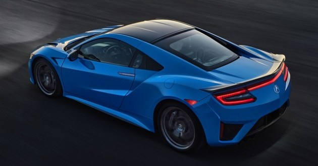 2022 Acura NSX side