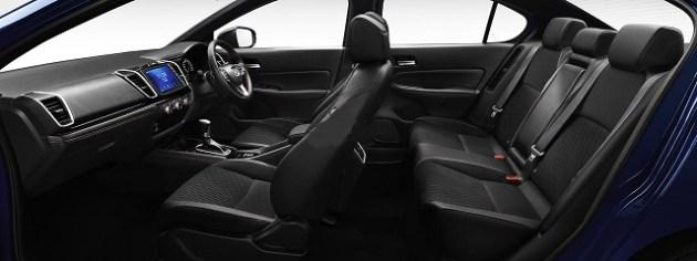 2021 Honda City eHEV Sport Hybrid seats