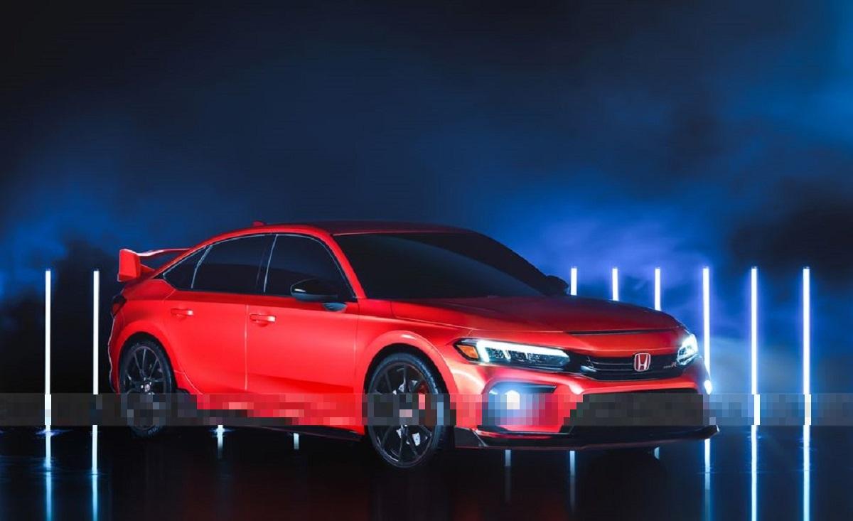 2022 Honda Civic Type R front