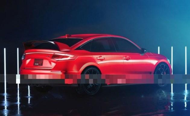 2022 Honda Civic Type R rear