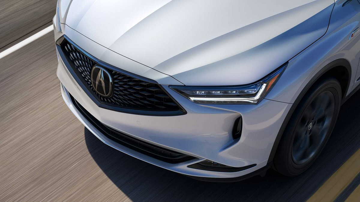 2022 Acura MDX hybrid front