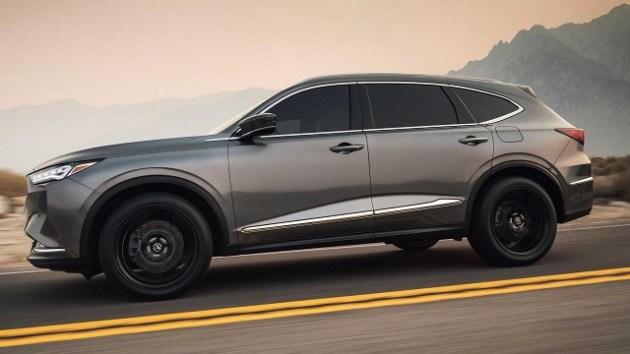 2022 Acura MDX hybrid side