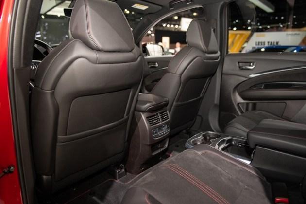 2022 Acura MDX PMC Edition seats