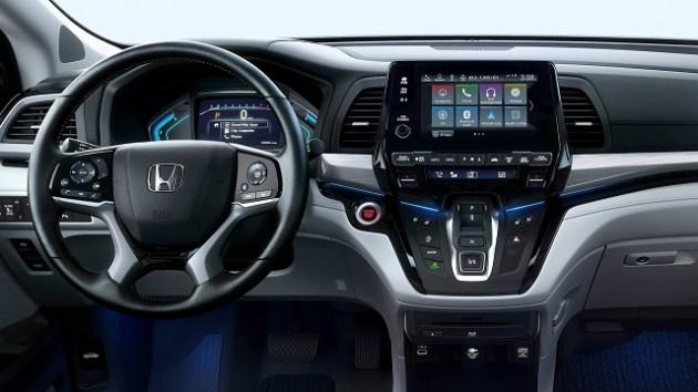 2022 Honda Odyssey Elite cabin