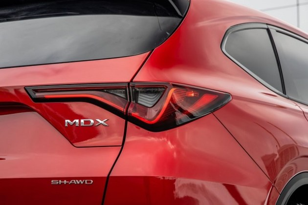 2022 Acura MDX SH-AWD rear