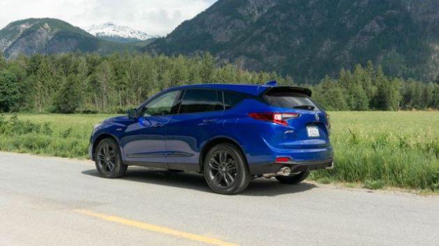 2022 Acura RDX Type S side