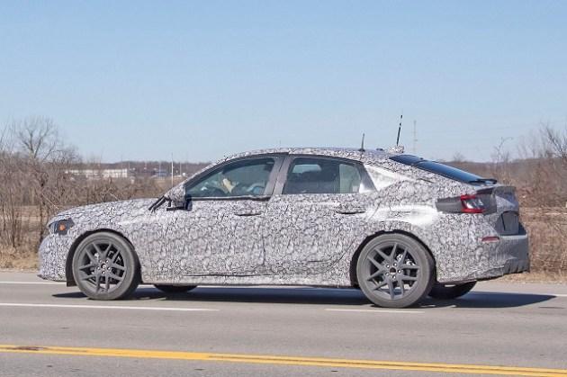 2022 Honda Civic Hatchback side