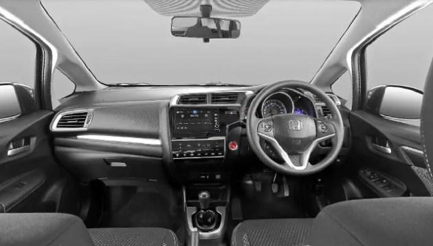 2022 Honda WR-V interior