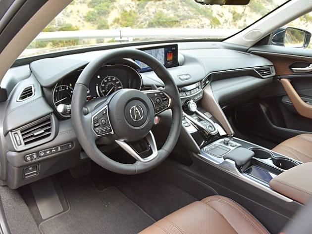 2022 Acura TLX Type S interior