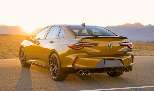 2022 Acura TLX Type S rear