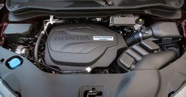 2022 Honda Ridgeline Black Edition engine