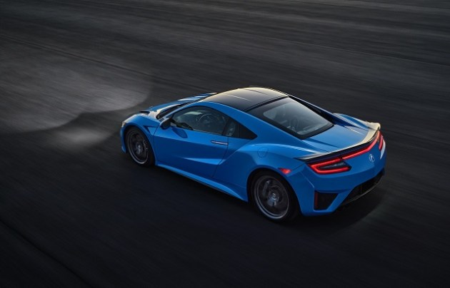 2023 Acura NSX side