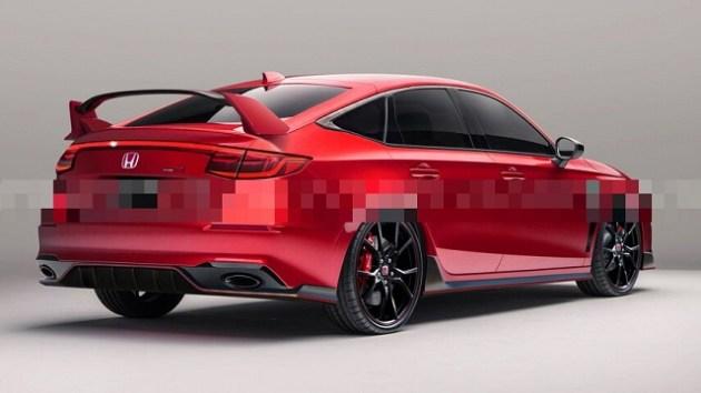 2023 Honda Civic Type R rear