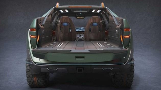 2023 Honda Ridgeline rear