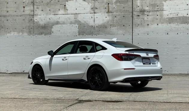 2022 Honda Civic Sport rear