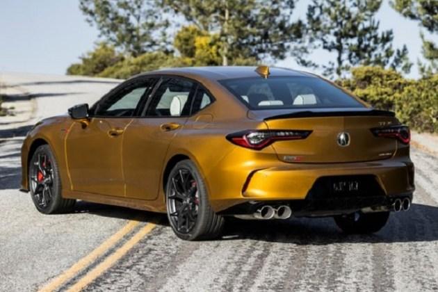 2023 Acura TLX Type S rear