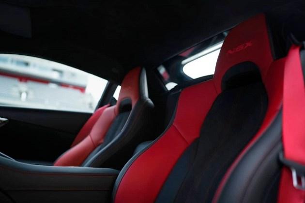 2023 Acura NSX Type S interior