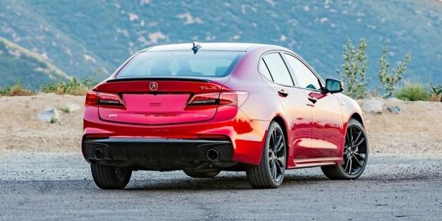 2023 Acura TLX rear