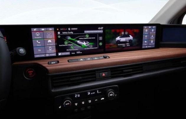 2023 Honda E-SUV interior