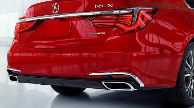 2023 Acura RLX rear