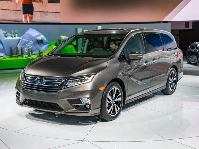 2019 Honda Odyssey Exterior Design