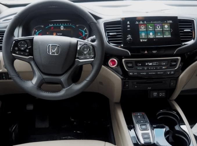 2019 Honda Pilot Interior Update
