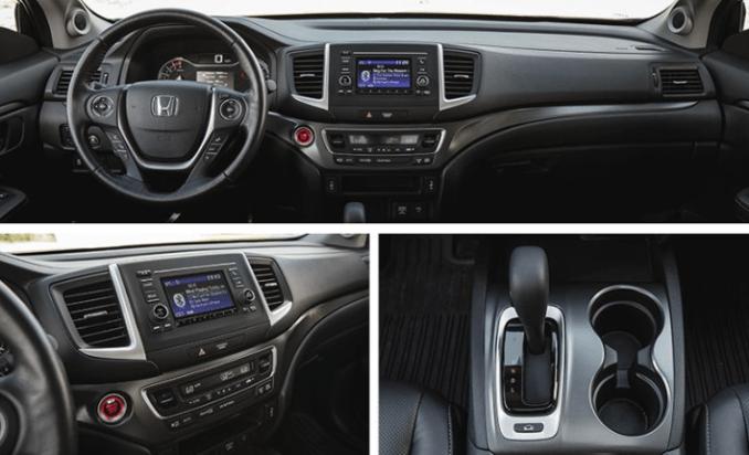 2019 Honda Ridgeline Interior
