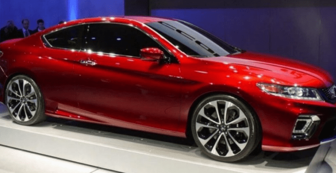 2020 Honda Accord Coupe Sport Exterior