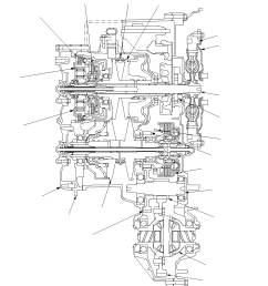 vista transversal de la caja de cambios [ 950 x 1055 Pixel ]